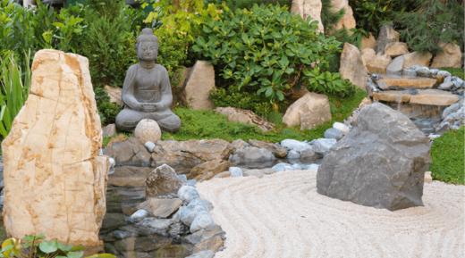 Cara Membuat Zen Garden batu